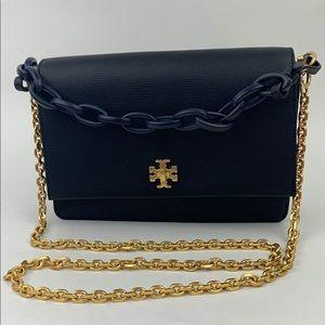 TORY BURCH Kira Leather doube strap Shoulder Bag